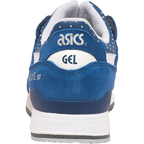 asics tiger mens gel lyte iii glow in the dark pack trainers est blue