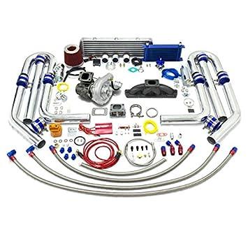 High Performance Upgrade T04E T3 CT25 21pc Turbo Kit - Audi 1.8L Engine