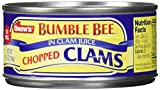 Snow s by Bumble Bee Chopped Clams Juice, 6 Count