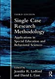 img - for Single Case Research Methodology book / textbook / text book