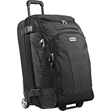 "eBags TLS Mother Lode Junior 25"" Wheeled Duffel (Solid Black)"
