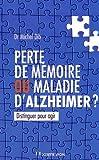 "Afficher ""Perte de mémoire ou maladie d'Alzheimer ?"""