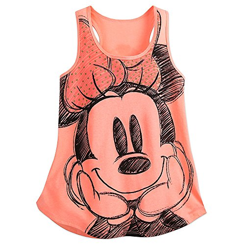 Disney-Minnie-Mouse-Tank-Tee-for-Women-Orange