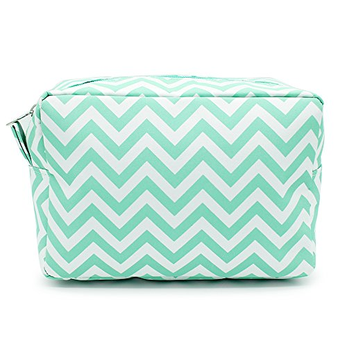 Travel cosmetic bag Portable Travel Makeup Cosmetic Bag (Mint)