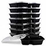 KICHEIF Meal prep containers [10Pack] [32ounce]