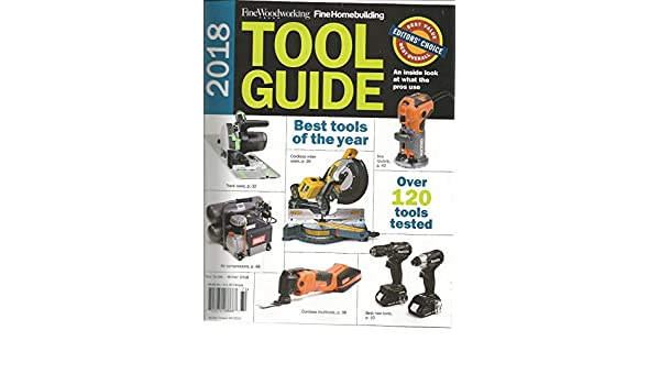 Amazon Com Fine Wood Working Magazine Winter 2018 2018 Tool Guide