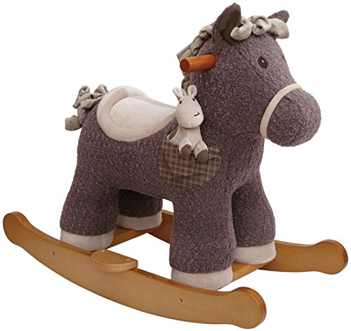 Little Bird Told Me LB3027 Bobble & Pip Infant Rocker Ride On by Little Bird Told Me