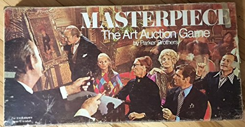 MasterPiece 1970 Edition Art Auction by Parker Brothers (Masterpiece Board Game 1970 compare prices)