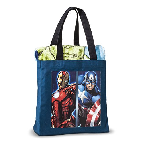 Avengers Throw-in-a-Bag Gift Set