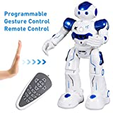 SGILE Robot Toy, Programmable Remote Control Robot for Kids Birthday Gift Present, Interactive Walking Singing Dancing Smart Intelligent Robotics for Toddler Boy Girl, Blue