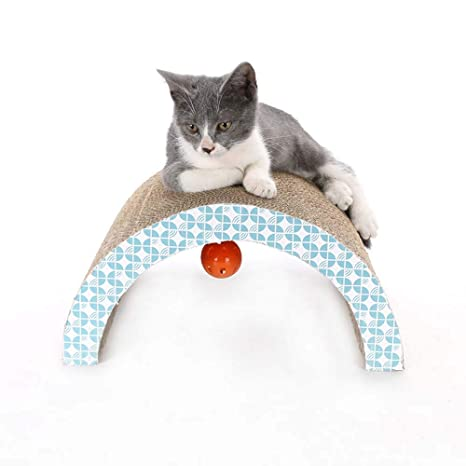 LIZONGFQ Juguetes para Gatos Pad Scratch Board Pad ...