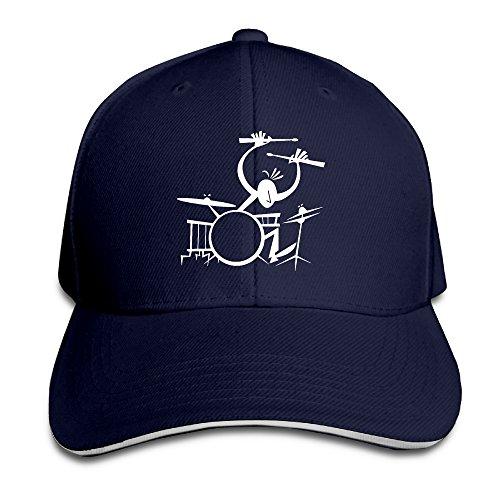 printed-drummer-music-instruments-cool-visor-hats-sandwich-cap