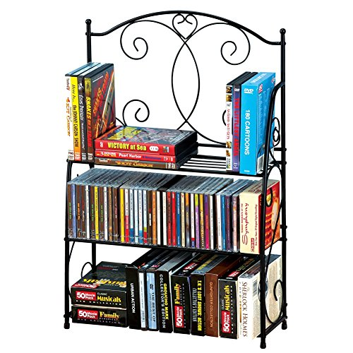 3-tier Media Storage Shelf