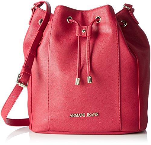 Armani 922563cc857 - Bolso baguette Mujer Pink (GERANIO 08873)