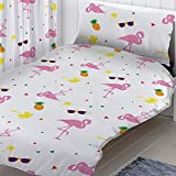 Flamingo Single Duvet and pillowcase Set