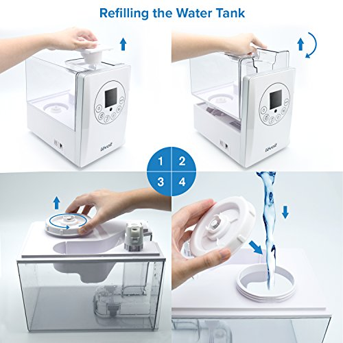 Levoit Humidifiers Vaporizer Warm And Cool Mist Ultrasonic Import It All