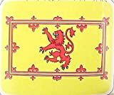 Scottish Lion Rampart Flag Fleece Throw