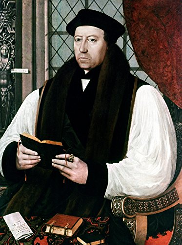 1545 Oil - Thomas Cranmer (1489-1556) Nenglish Prelate And Reformer Oil On Panel 1545 By Gerlach Flicke Poster Print by (24 x 36)