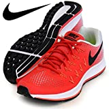 Nike Men's Air Zoom Pegasus 33, Action Red/Black-pure Platinum-total Crimson - 7 D(M) US