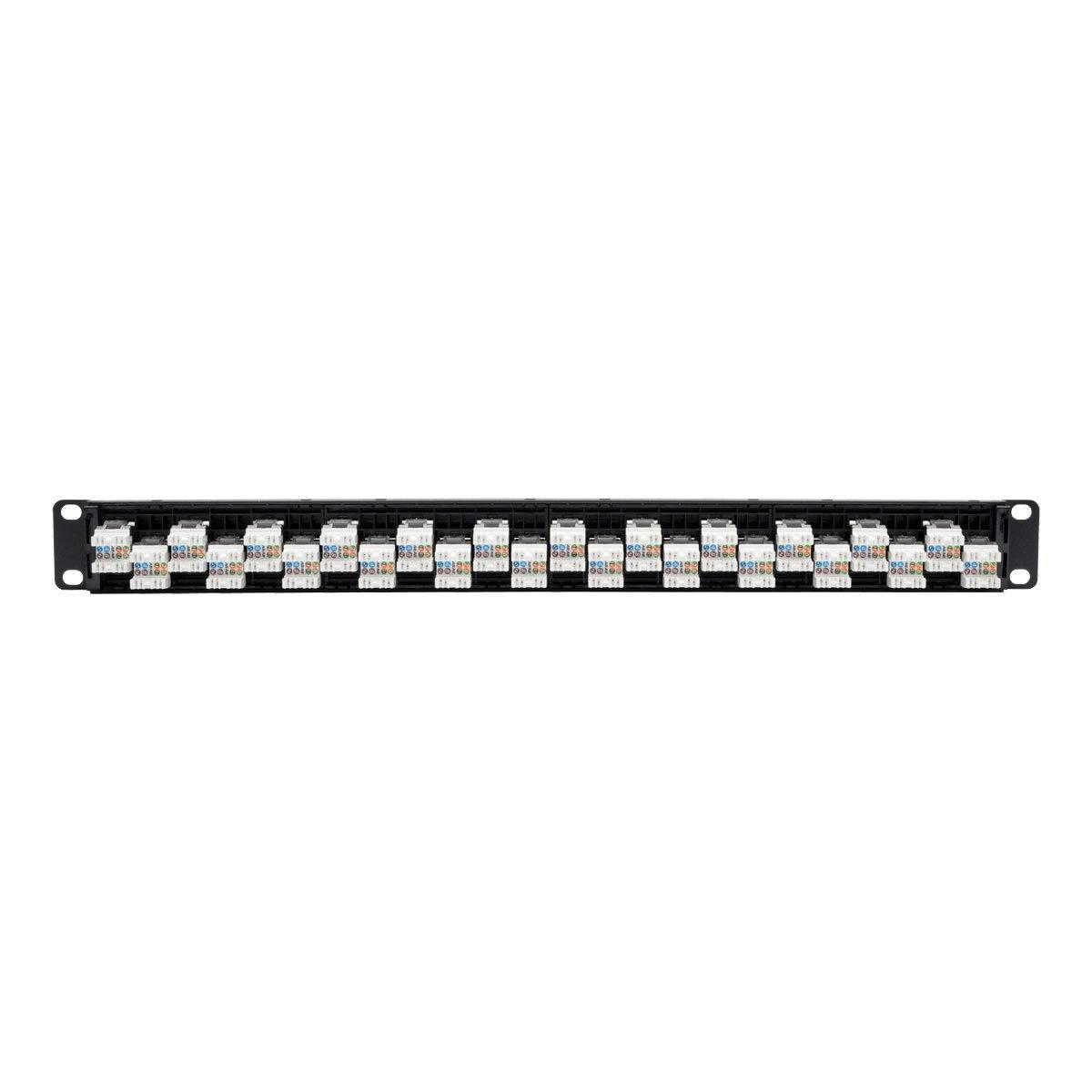 Tripp Lite 48 Port 2u Rackmount Cat6 110 Patch Panel Rj45 Crossover Wiring 568b Ethernetn252 048 Electronics