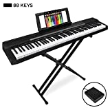 Best Choice Products 88-Key Full Size Digital...