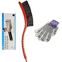 CLEARANCE This Electric Heated Auto Ice Scraper Is Part Of A 3 Piece Bundle That Also Includes A Snow Brush With Scraper Combo, and Gloves To Keep Your Hands Dry While Cleaning Off The Snow and Ice
