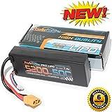 PowerHobby 2S 7.4V 5200mAh 50C Lipo Battery Pack w XT90 Connector Hard Case Fits : Arrma Kraton Nero Typhon Senton