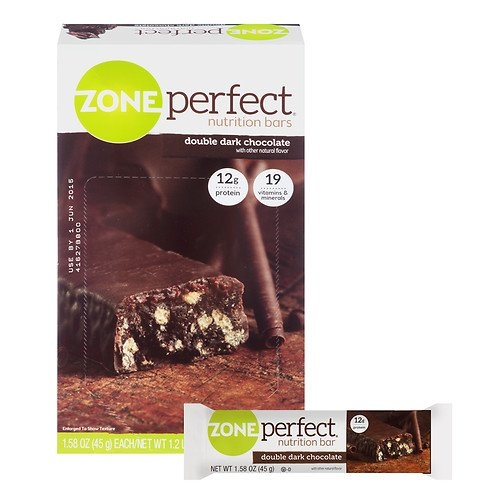 Zoneperfect All-natural Nutrition Bars, Double Dark Chocolate 1.61 Oz by Zone Perfect