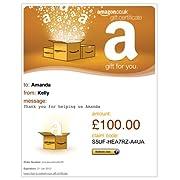 E-mail Amazon.co.uk Gift Certificates