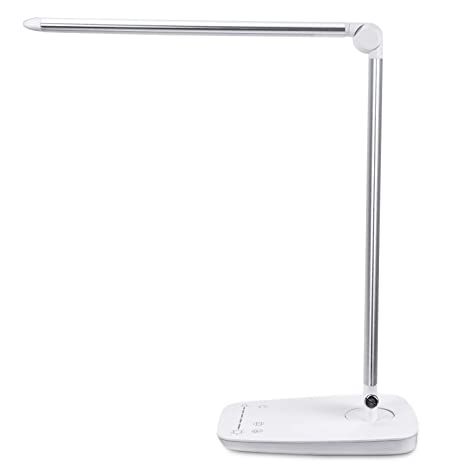 Charging 6500Kand LevelsTouch Dimmable with USB PortPEMOTech Desk Color Brightness 10W 7 Sensitive Temperatures 2700 Lamp Table Lamps9 LED VpzMqSU