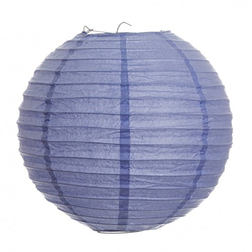 (Koyal 24-Inch Paper Lantern, Lavender, Set of 6)