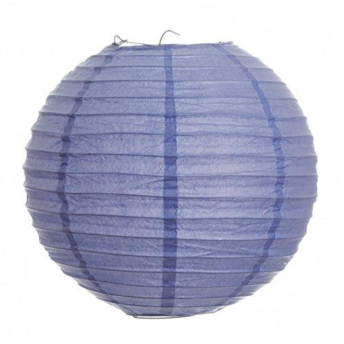 Koyal 24-Inch Paper Lantern, Lavender, Set of 6