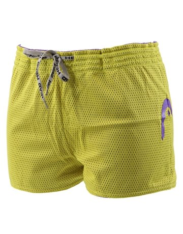 Head Herren Badehose Double Power Drag Short Violett Und Limette - Violett, XL