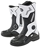Joe Rocket Men's Ballistic Tour Boot (White/Black, 8)