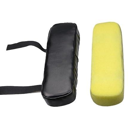 RUNGAO Almohadilla de reposabrazos de Repuesto Universal Suave para sillas, reposabrazos y reposabrazos