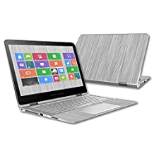 "Skin For HP Spectre x360 2-in-1 13.3"" (2015) – Steel 