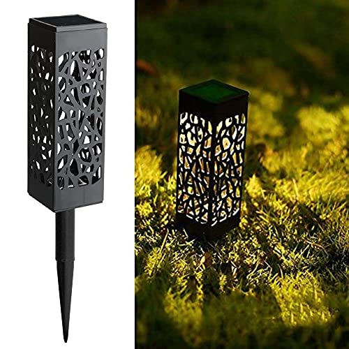 Maggift 8 Pcs Solar Powered LED Garden Lights, Solar Path Lights Outdoor, Automatic Led Halloween Christmas Decorative…