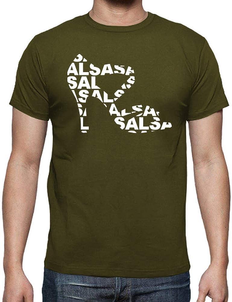 latostadora - Camiseta Zapato de Baile con Salsa para Hombre Army XL: shinkitune: Amazon.es: Ropa y accesorios