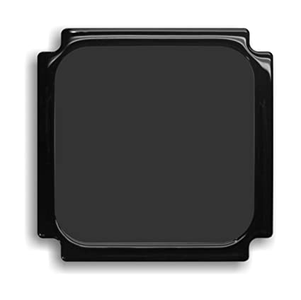DEMCiflex Dust Filter for NCASE M1 120mm Square, Black Frame/Black Mesh