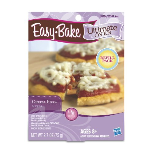 Easy Bake Ultimate Oven Cheese Pizza Mix Playset (Ez Bake Mixes)