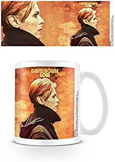 Official boxed Ceramic Coffee//Tea Mug Basse Pyramid International David Bowie
