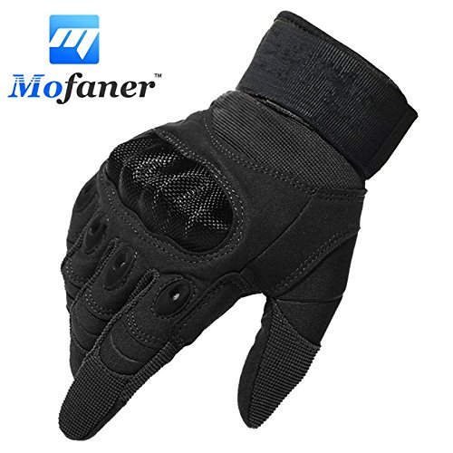 CALAP-STORE - One Pair New Motorcycle Full Finger Gloves Scooter Motorbike Motor Racing Warm Glove
