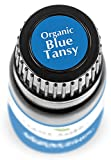 Plant Therapy Blue Tansy Organic Essential Oil 100% Pure, Undiluted, Natural Aromatherapy, Therapeutic Grade 2.5 mL