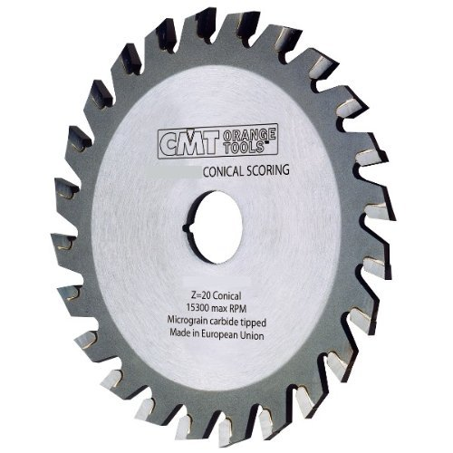 CMT 288.180.36O Industrial Conical Scoring Blade, 180mm (7-3/32-Inch) X 36 Conical Teeth with 55mm Bore