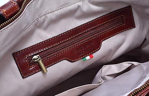 イタリアンカウレザー/A4ジャスト ブリーフケース 本革 ハンドメイドビジネスバッグ ostinato オスティナートイタリア製 55011