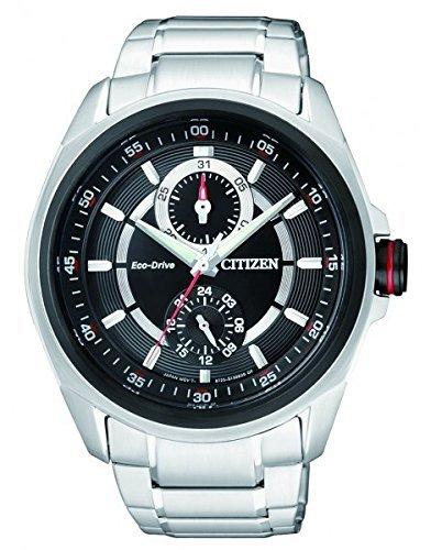 Citizen-Mens-Eco-Drive-Stainless-Steel-Bracelet-Watch-41mm-BU3004-89E