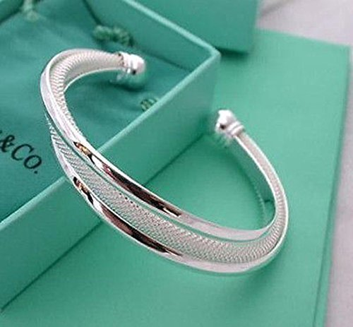 925-sterling-silver-cuff-bracelet-bangle-chain-wristband-women-fashion-jewelryby-pimchanok-shop