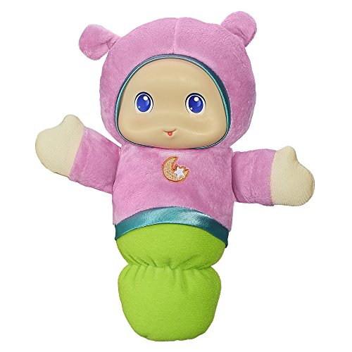Playskool Lullaby Gloworm Toy with 6 lullaby tunes, Pink (Amazon Exclusive)