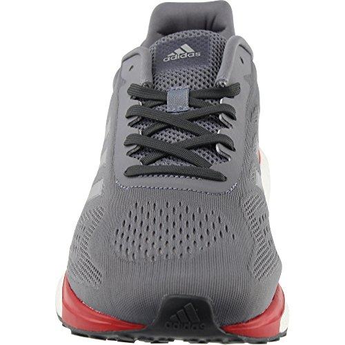 Adidas Respons Boost Lt Herre Running Shoe Grå / Silver Metallic / Scarlet oGDcpM0fWj