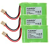 Floureon Rechargeable Cordless Phone Batteries for Vtech BT-17333 BT-27333 BT17333 BT27333 CS2111 Cordless Telephone Battery Replacement 3 Pack, Office Central